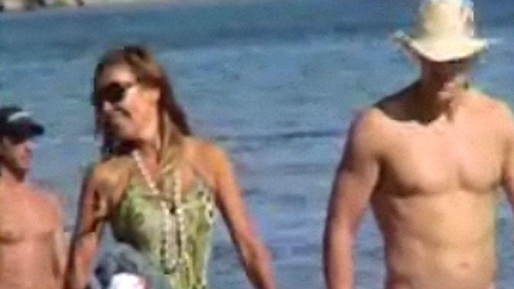 Ana García Obregón ¿con su nuevo novio?
