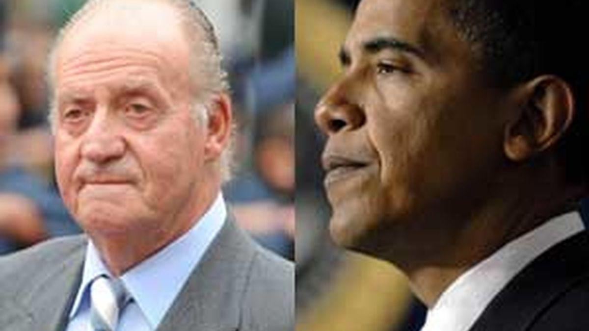 Obama llamó al Rey desde la Casa Blanca. Vídeo: Atlas.