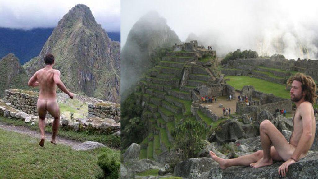 moda,turismo,Machu Picchu,desnudos,Perú