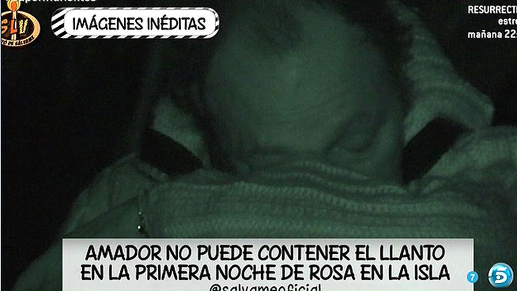 Durante la primera noche de Rosa en Honduras, su exmarido se emocionaba