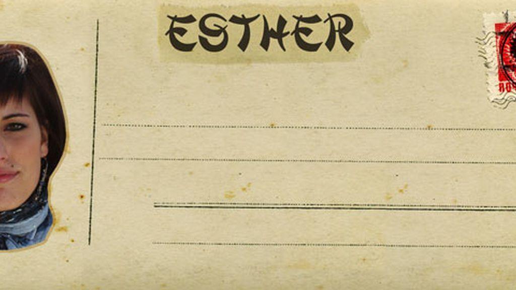Esther, desempleada