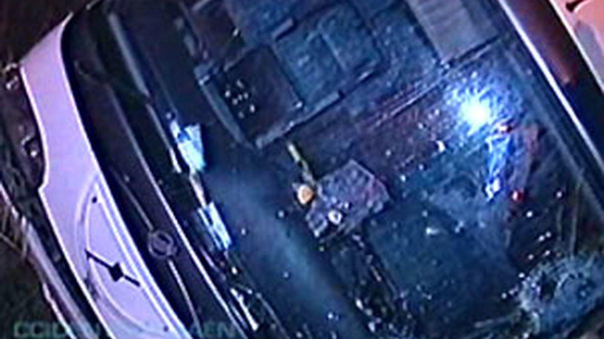 Doce heridos en un accidente de autobús. Video: Informativos Telecinco