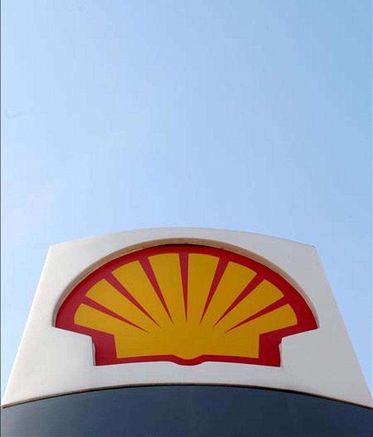 Logotipo de la petrolera Shell en Londres. EFE/Archivo