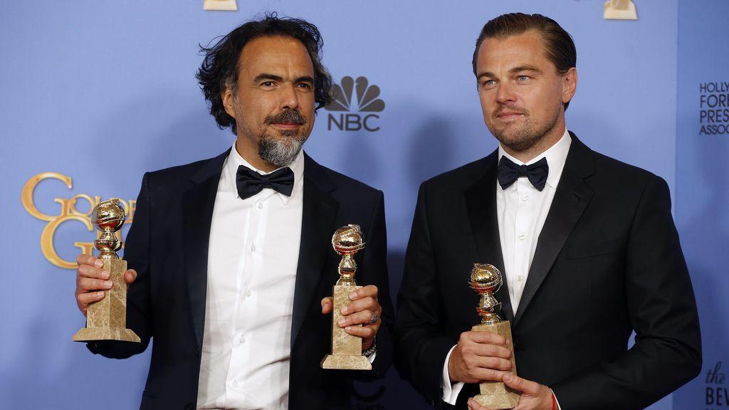 Los triunfadores: Leonardo DiCaprio y Alejandro González Iñárritu