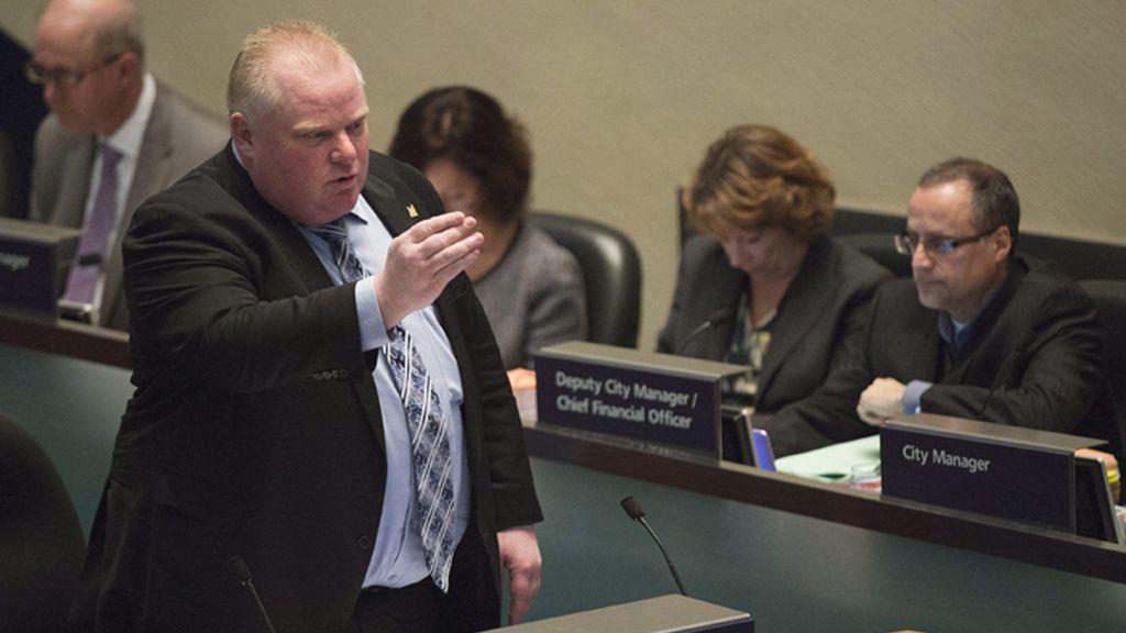 El alcalde de Toronto admite que fumó crack tras negarlo durante meses