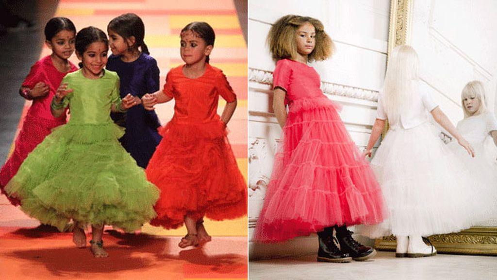 Jean Paul Gaultier inaugura su línea de 'alta costura' infantil
