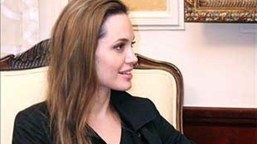 Angelina Jolie todavía conserva su lado oscuro. Foto: EFE