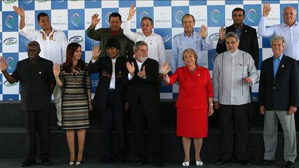 La cumbre de jefes Mercosur fue aplazada para el 23 y el 24 del mismo mes. EFE/Archivo