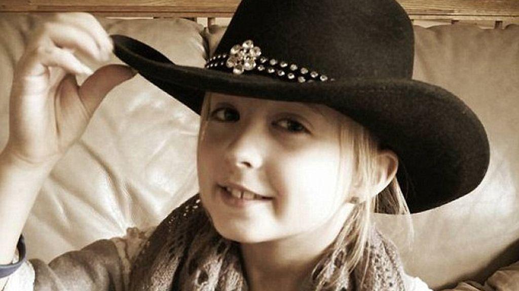 Chrissy Turner, víctima de un extraño cáncer de pecho