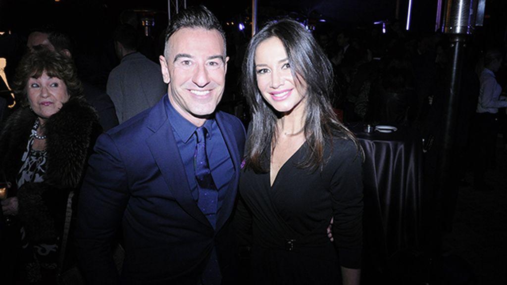 Abel Arana junto a la bailaora Cecilia Gómez