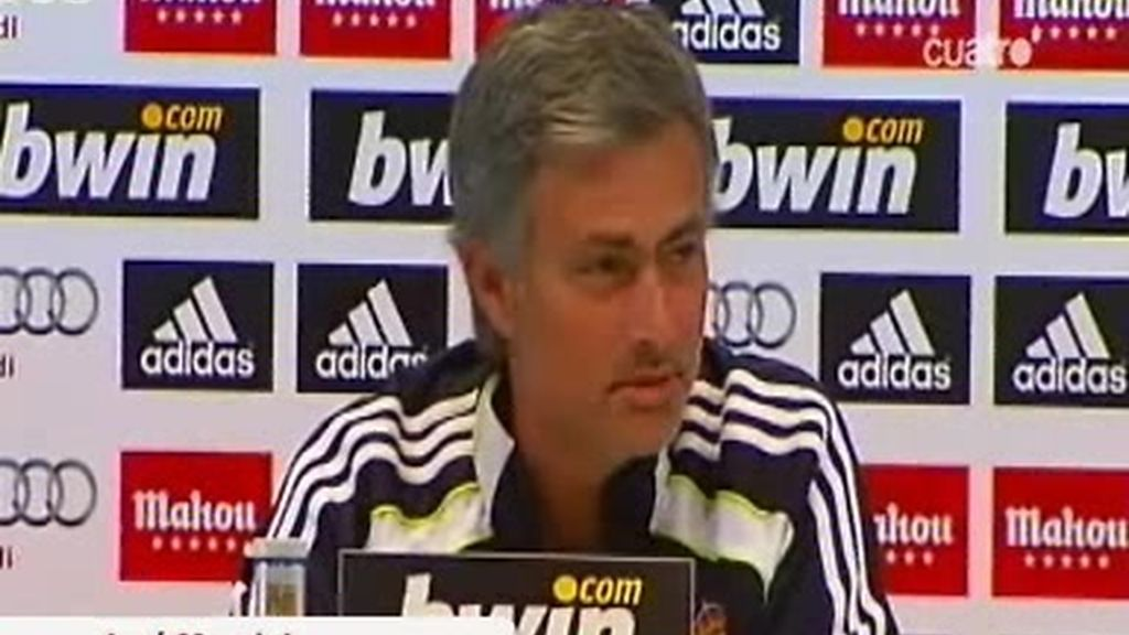 Mourinho, ocho años imbatido en casa: 'Cristiano será titular'