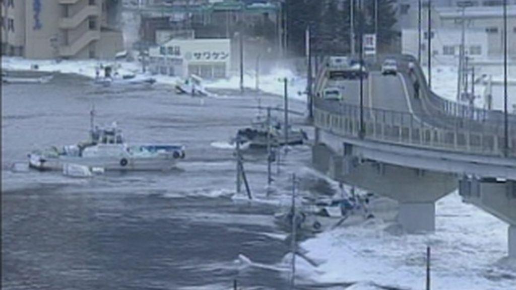 Un violento terremoto de 8,8 grados sacude Japón