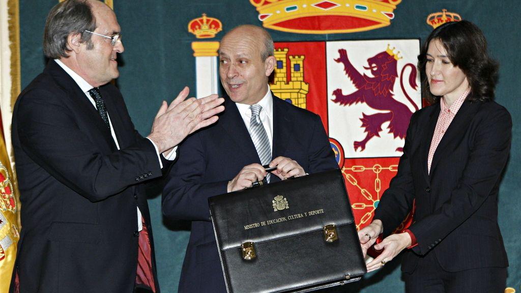 José Ignacio Wert toma posesión de su cargo