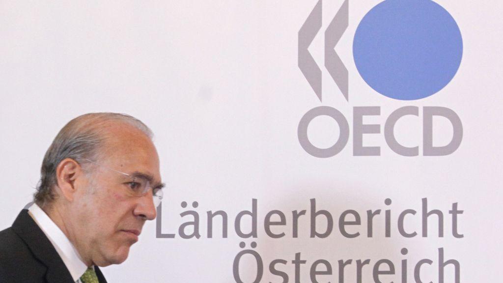 José Ángel Gurria, Secretario General de la OCDE, en Viena el pasado julio. Foto: REUTERS