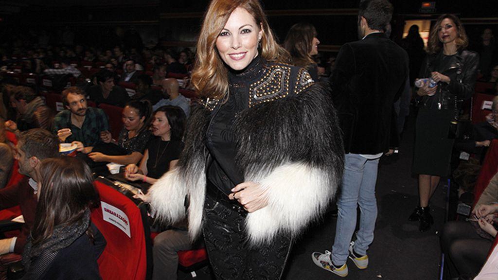 Raquel Rodríguez y su espectacular chaqueta