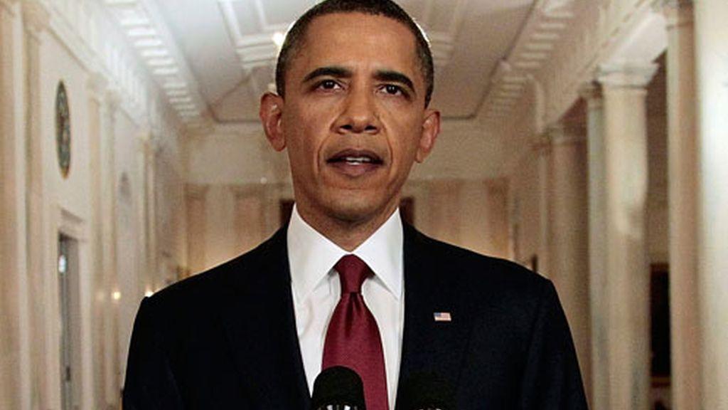 Obama también ha recibido el apoyo y reconocimiento de los congresistas.