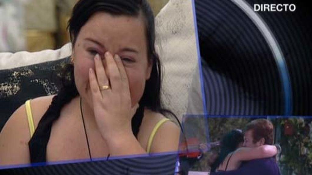 Las lágrimas de Almudena