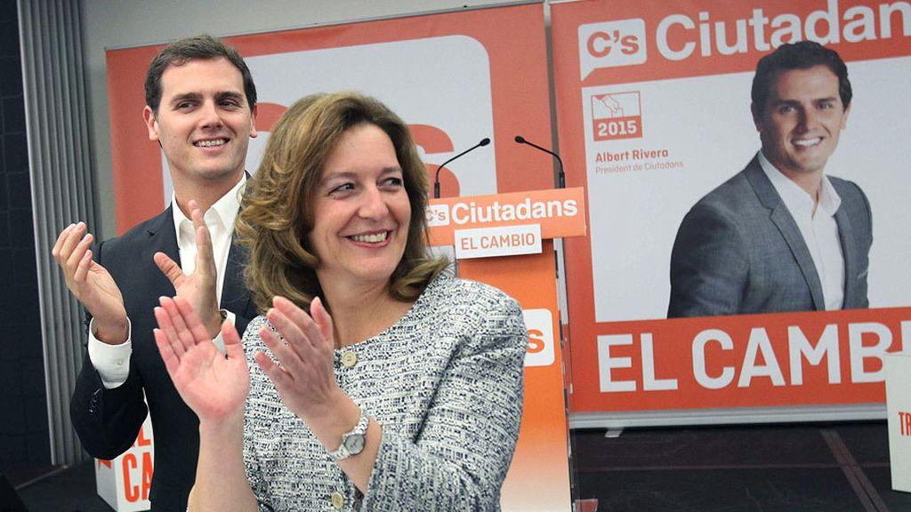Albert Rivera arranca la campaña en Barcelona