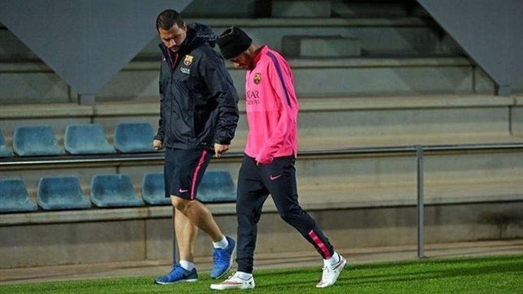 Neymar, baja para Getafe