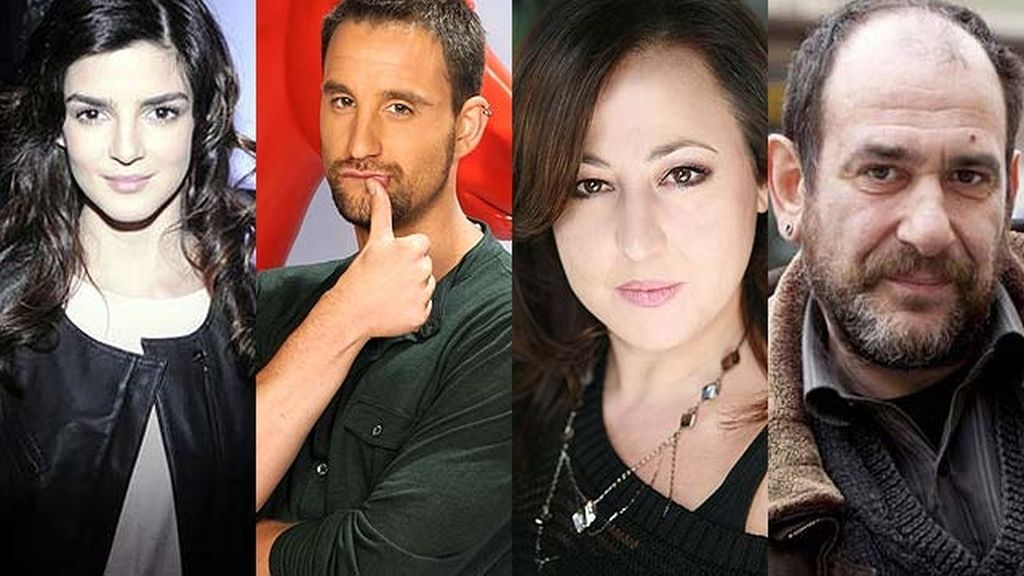 Clara Lago, Dani Rovira, Carmen Machi y Karra Elejalde