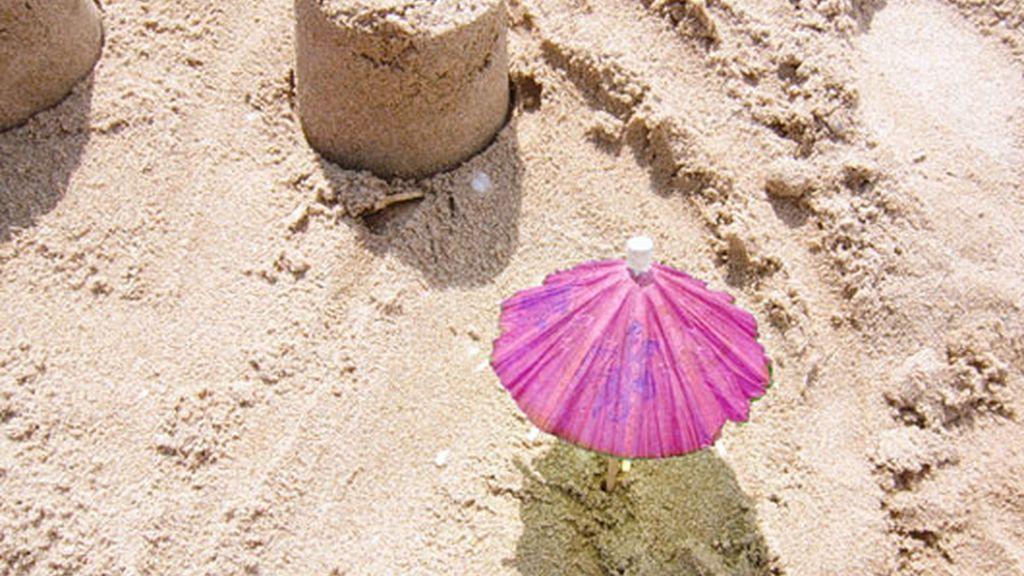 La playa 'pink'