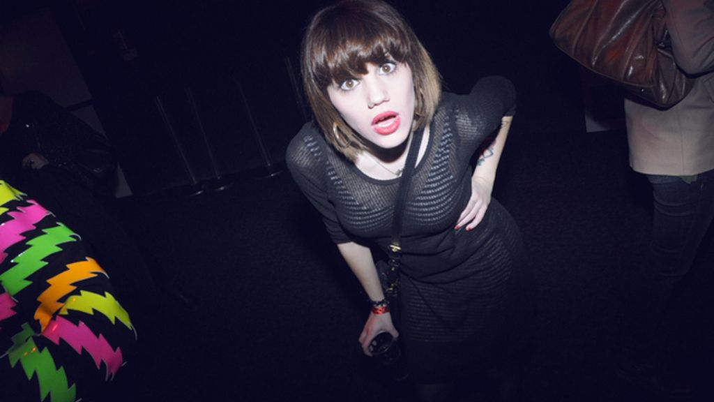 La cantante Angy Fernández