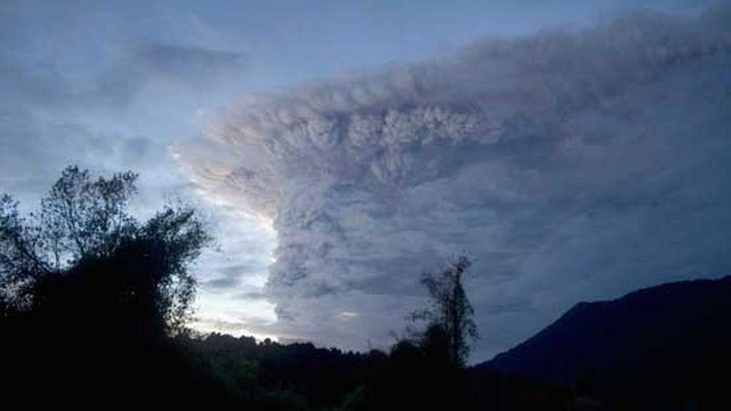 Argentina, bajo una nube de cenizas