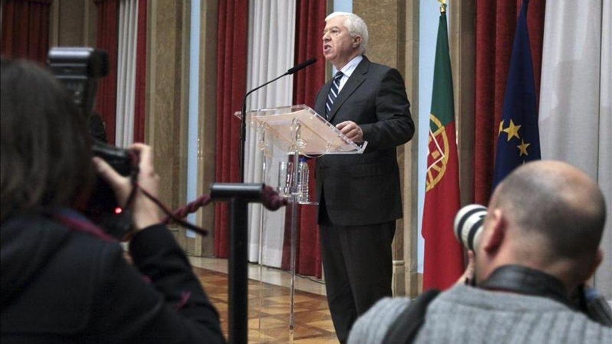 El ministro de finanzas de Portugal, Teixeira dos Santos. EFE/Archivo