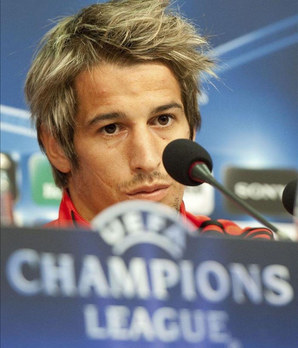 El jugador del Benfica Fabio Coentrao. EFE/Archivo
