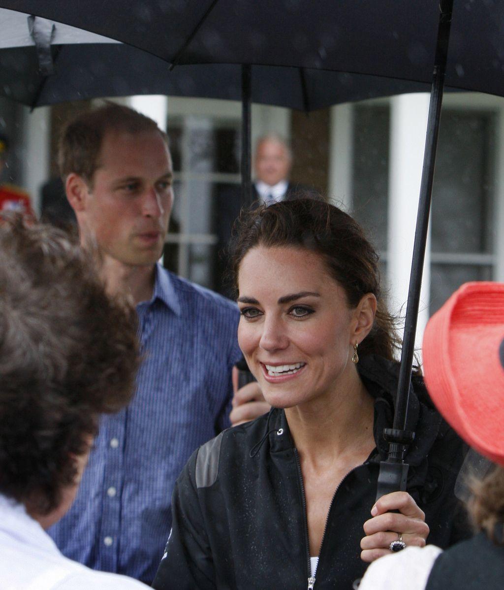 Kate y William, enamorados y felices en Canadá