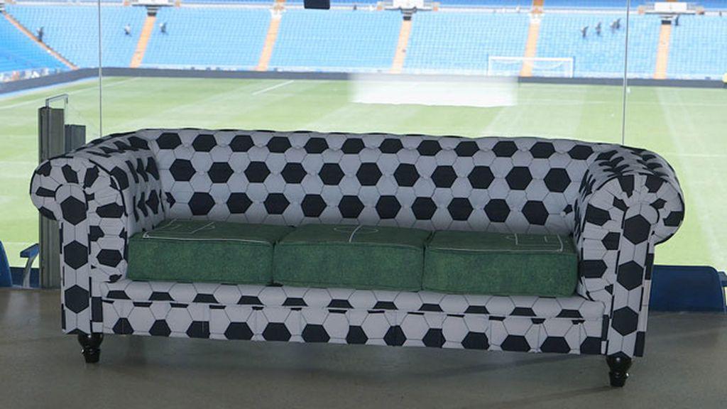 Un sofá futbolero, otro muy flamenco, picante... así son los próximos chester