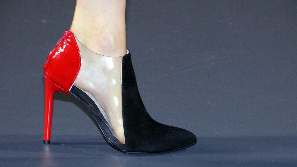 Éstos eran los preciosos zapatos que lucieron las modelos en el desfile de Amaya Arzuaga