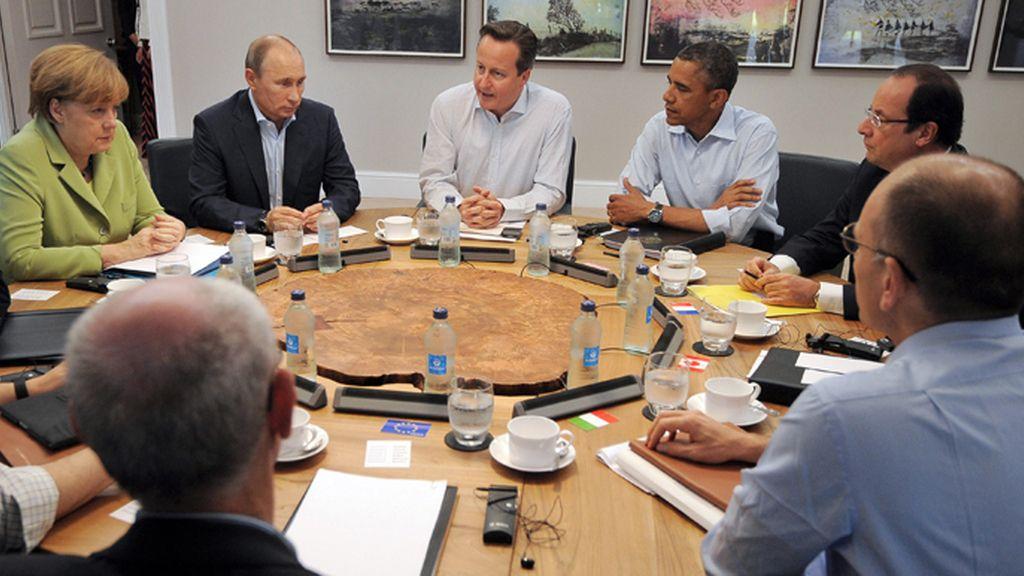 La cumbre del G8 aborda la crisis Siria