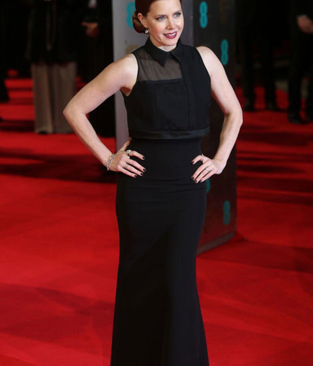 La actriz Amy Adams, candidata por 'La gran estafa americana'