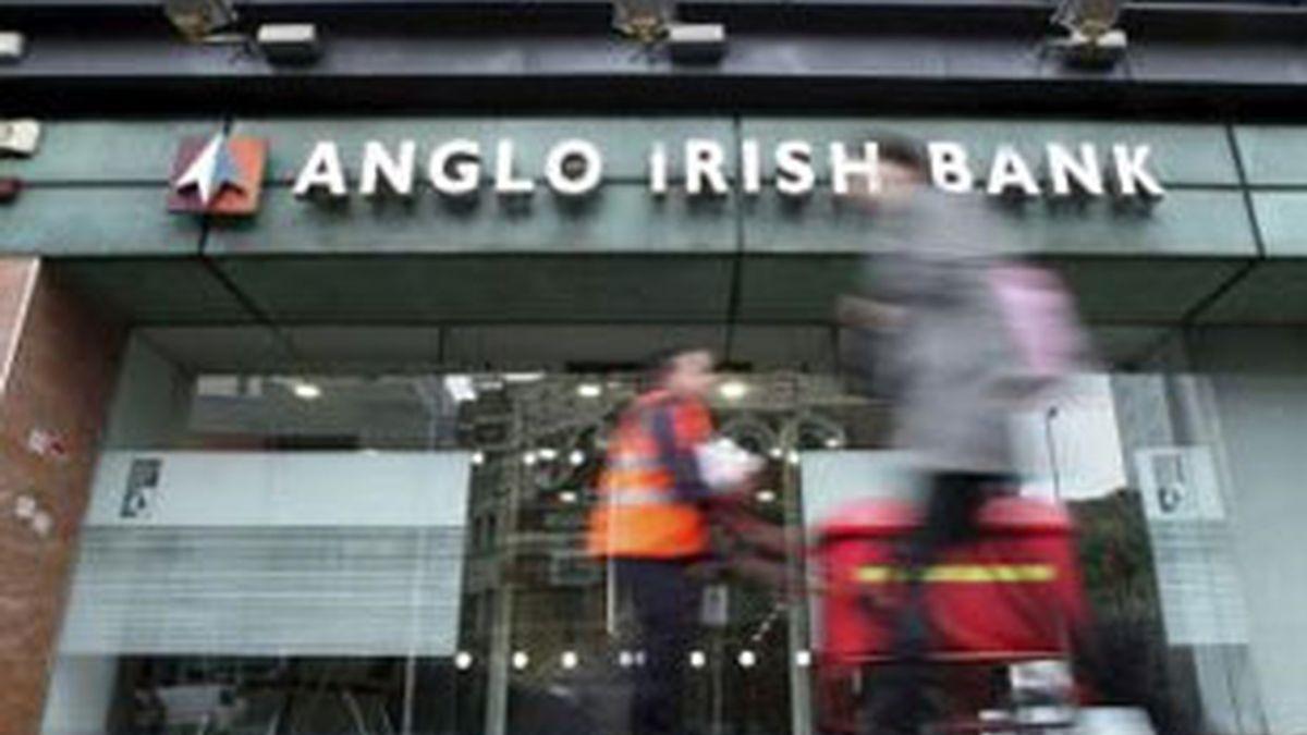 Una oficina del Anglo Irish Bank. Foto: EFE