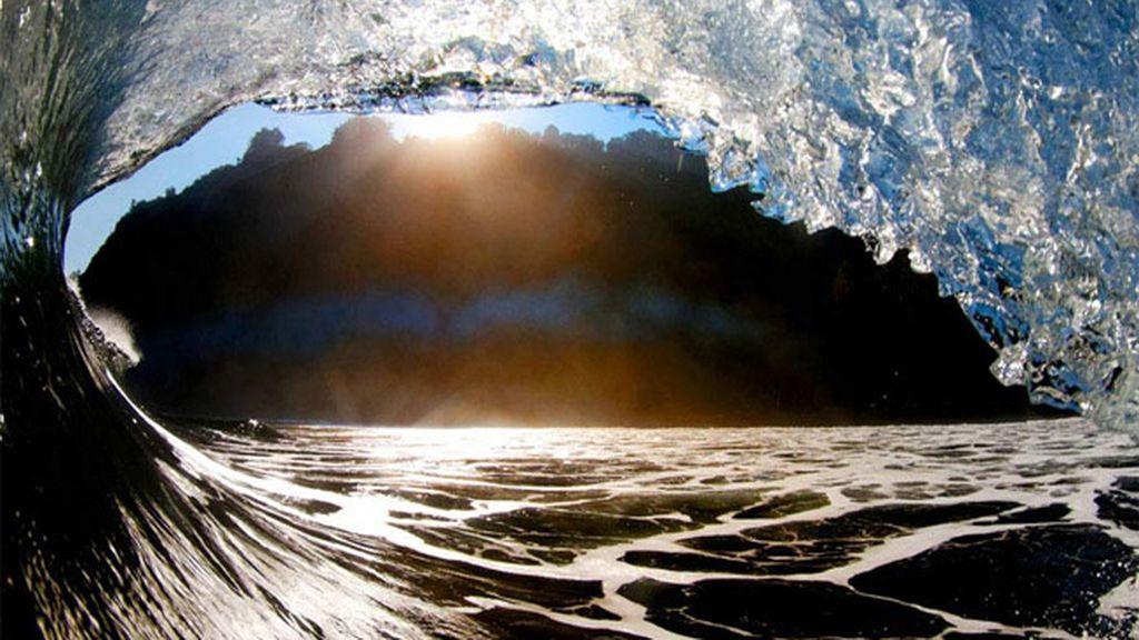 Los colores de las olas de Hawái