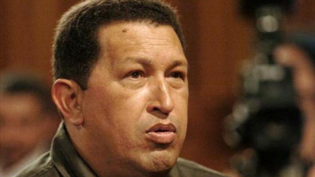 El gobernante venezolano había confirmado su participación en el acto de toma de posesión de Funes. EFE/Archivo