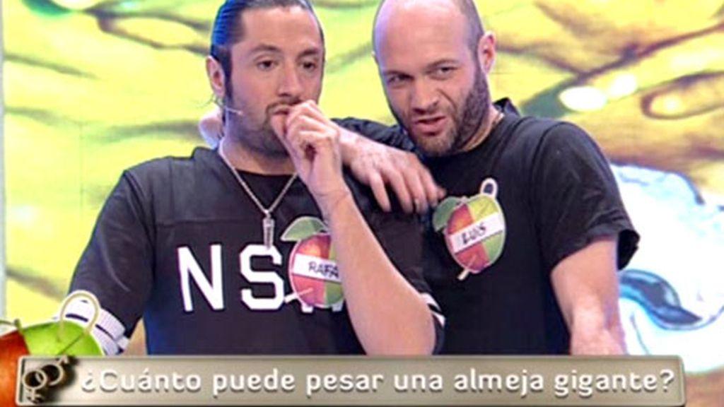 Los chicos: Luis y Rafael
