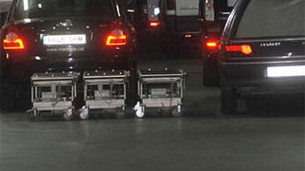 Los tres cuerpos han llegado a España esta madrugada. Foto: EFE