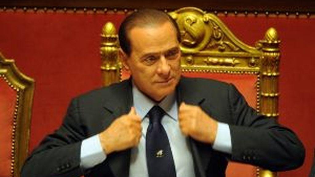 Silvio Berlusconi, en una imagen de archivo. Foto: Gtres