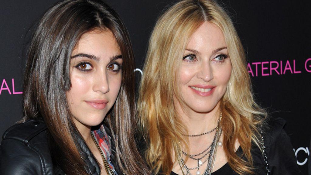 Madonna y su hija Lourdes
