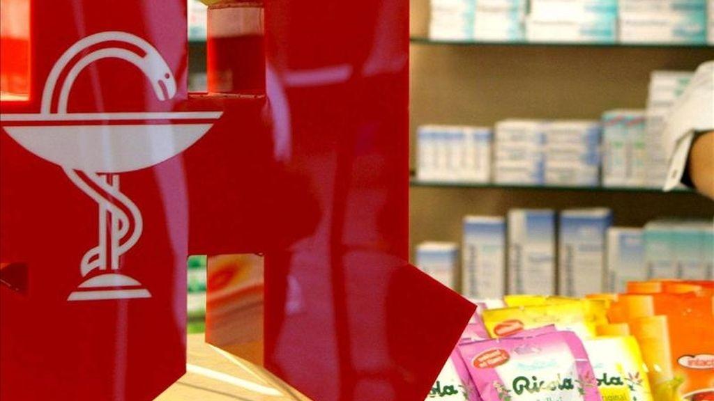 Mostrador de una farmacia. EFE/Archivo