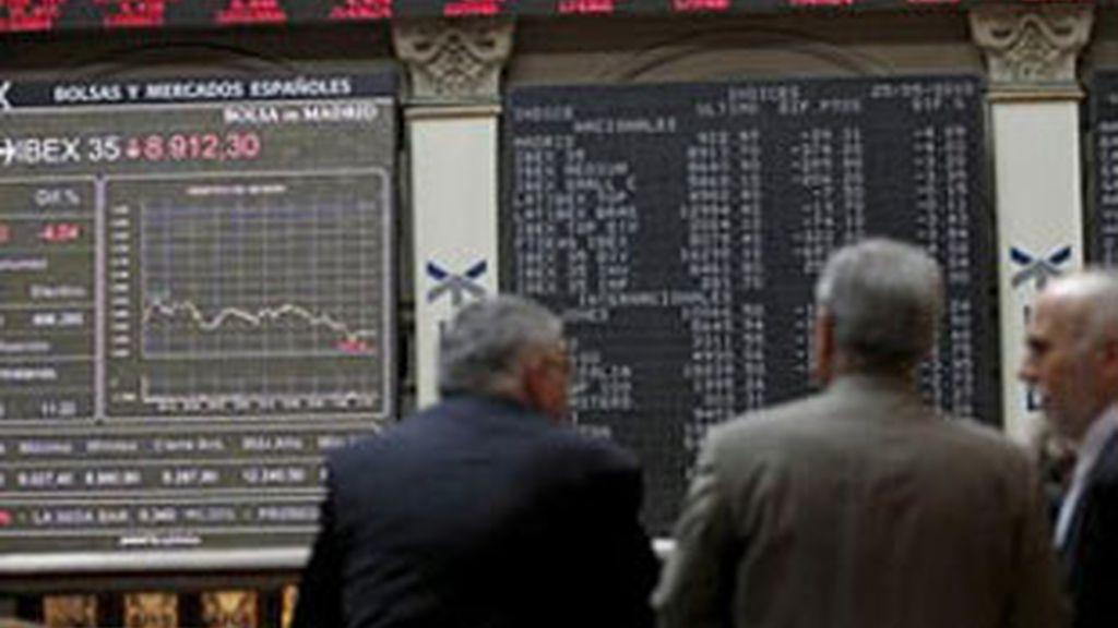 Continúa la euforia en la Bolsa de Madrid. Vídeo: ATLAS.