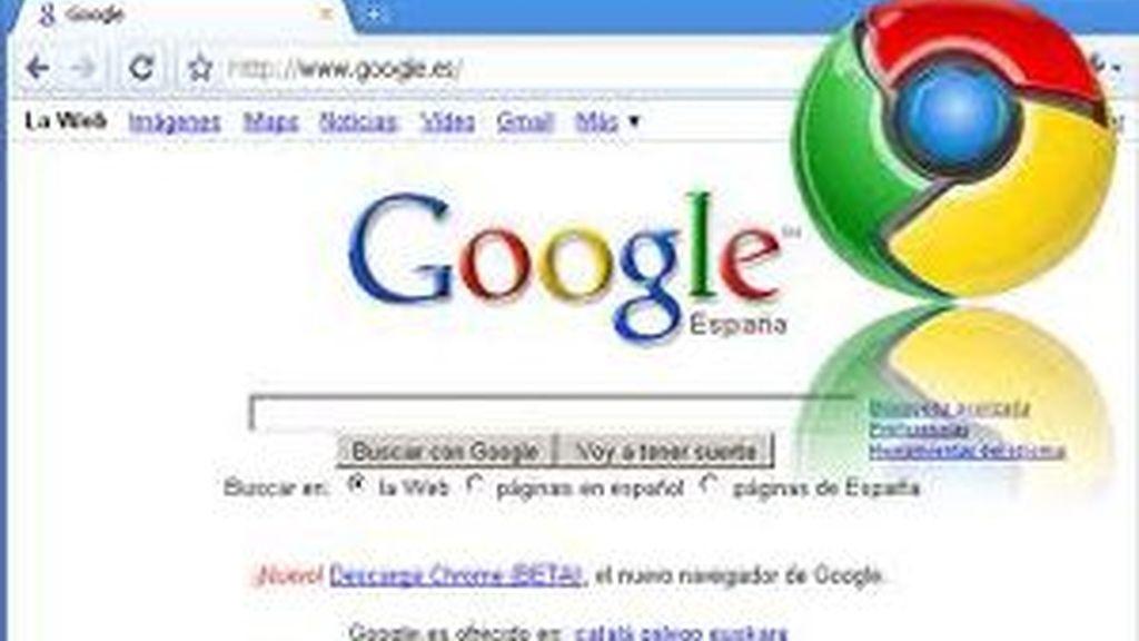 Google Chrome aumenta su cuota un 20% en el mercado de los navegadores, el mayor crecimiento en el último año.