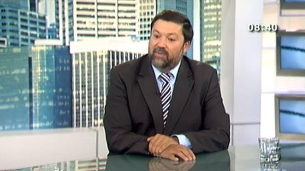 Imagen del ministro de Justicia, Francisco Caamaño.