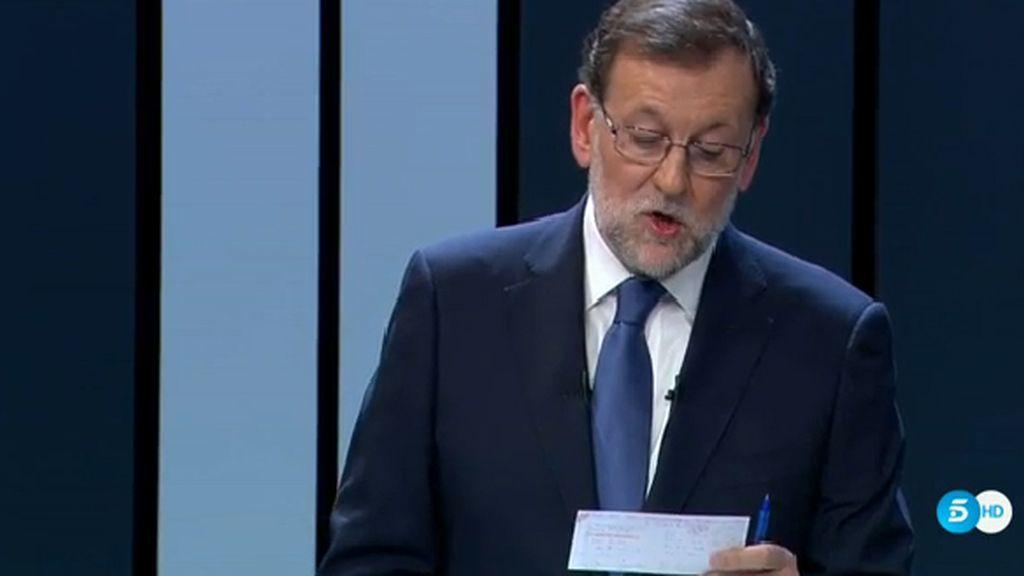 Chuleta de Rajoy