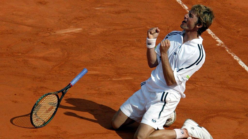 Juan Carlos Ferrero, campeón de Roland-Garros en 2003