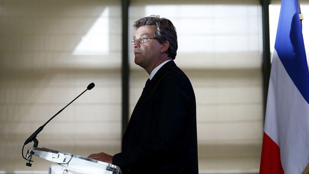Ministro de Economía francés, Arnaud Montebourg