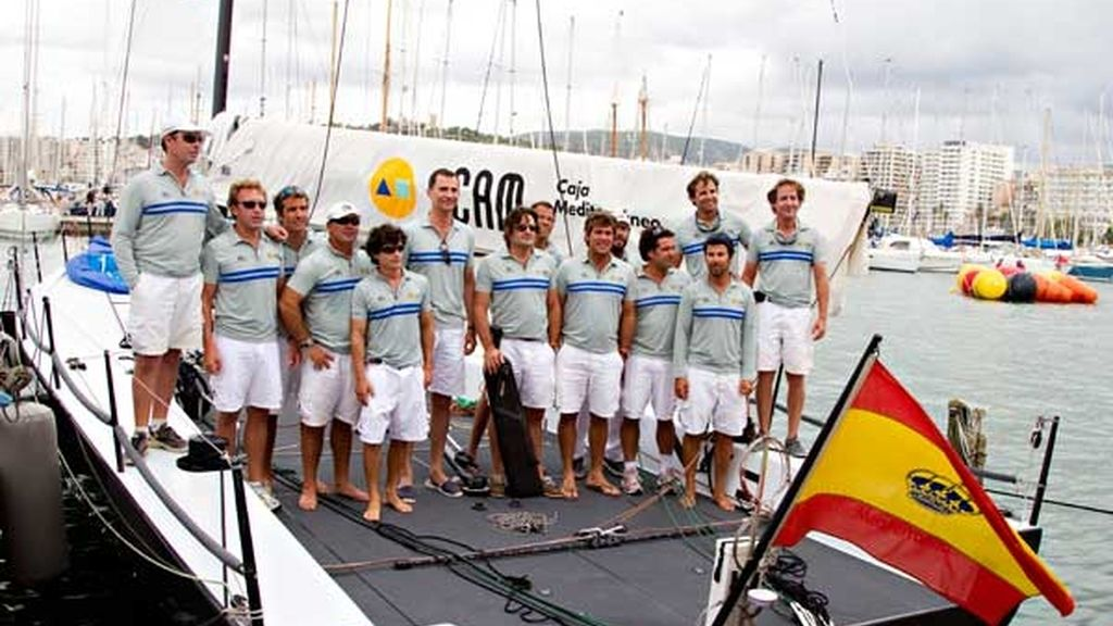 De regata en la Copa del Rey