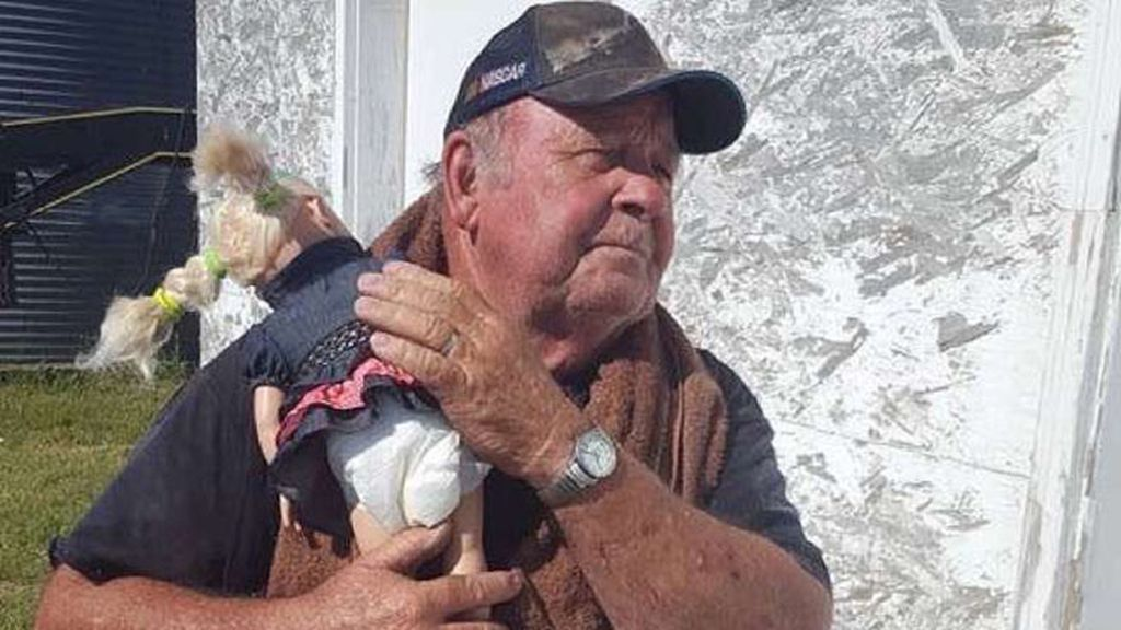 La visita al bisabuelo de Abbie